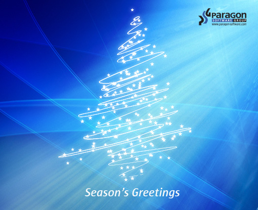 Season's Greetings for Paragon's friends! - Paragon Software Blog