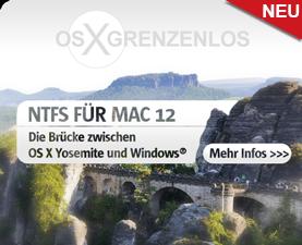 Paragon NTFS für Mac 12 - Der schnellste NTFS-Treiber für OS X Yosemite