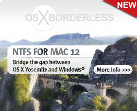 Paragon NTFS for Mac 12 - the fastest NTFS driver for OS X Yosemite!