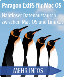 Paragon ExtFS für Mac OS