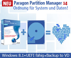 Paragon Partition Manager - Das Original!