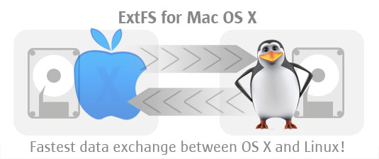 ExtFS 2/3/4 for Mac OS X