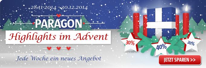 Die große Paragon Adventsaktion: Diese Woche das neue Paragon Backup & Recovery 15 Home - 35% sparen!