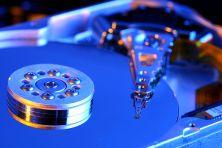 Dieses wunderschöne Festplattenlaufwerk ist intakt. Fragt sich nur, wie lange noch?