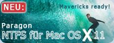 NTFS für Mac® OS X 11 - Mit Mac® und Windows® plattformübergreifend arbeiten