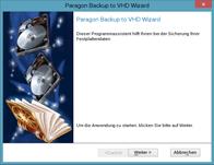 In virtuelles Archiv sichern - Linux
