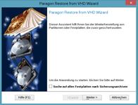 Aus virtuellem Archiv wiederherstellen - Linux