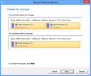 Merge Partitions Wizard