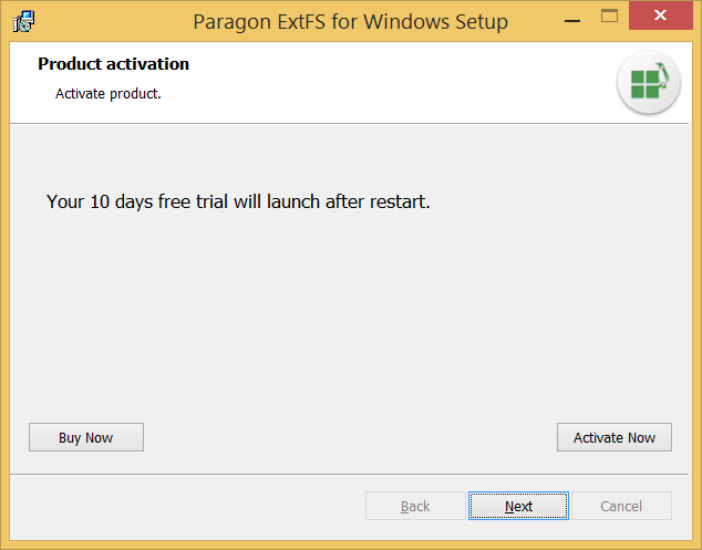 Full and free access to ext2ext3ext4 under windows paragon use 10 days full speed trial or activate full version ccuart Image collections