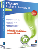 Paragon Backup & Recovery Home