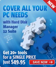 Paragon Hard Disk Manager 2012 Suite