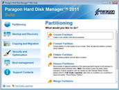 Click to View Full ScreenshotParagon Hard Disk Manager Suite 2011 screenshot