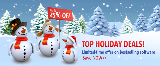 Extend Your Holiday Season With Paragons X Mas Sale Enjoy SPECIAL PRICES On Bestselling Software