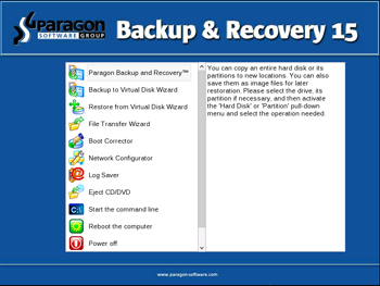 <b>Bootable Linux/DOS Recovery Environment</b><br />The Linux/DOS recovery environment can be used to boot your computer into Linux or PTS DOS to get access to your hard disk for maintenance or recovery purposes. It also has the PTS DOS safe mode, which may help in a number of non-standard situations such as interfering hardware settings or serious problems on the hardware level. In this case, only basic files and drivers (such as hard disk drivers, a display driver, and a keyboard driver) will be loaded