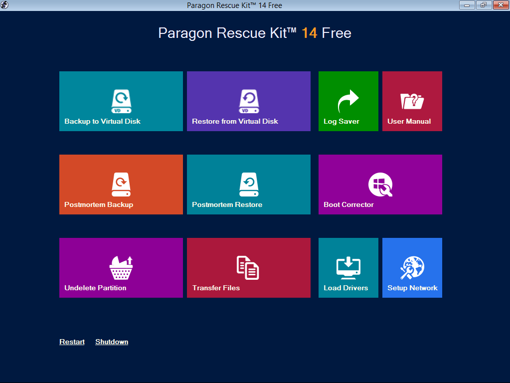 Rescue Kit 14 Free Edition - Overview