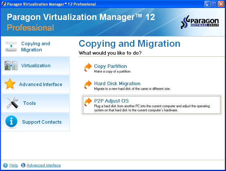 Virtualization Manager Professional Screenshot